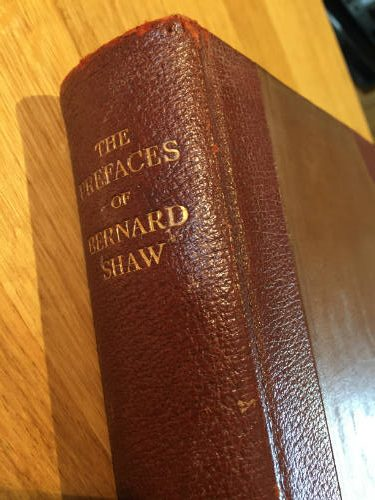 The Prefaces of Bernard Shaw
