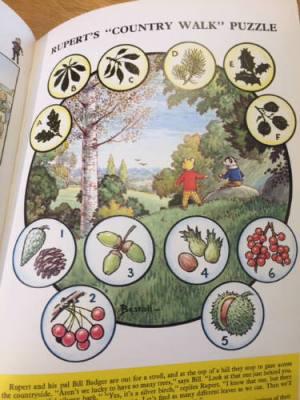 1972 Rupert Annual puzzle