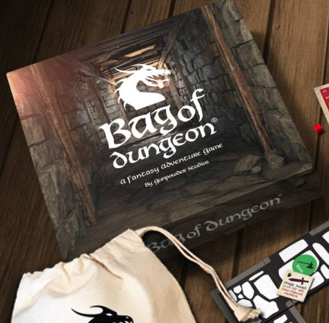 Bag of Dungeon, adventure game