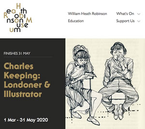 Charles Keeping Exhibition, London 2020.