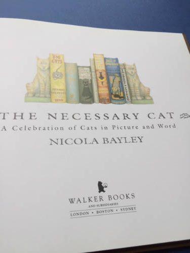 The Necessary Cat, Nicola Bayley