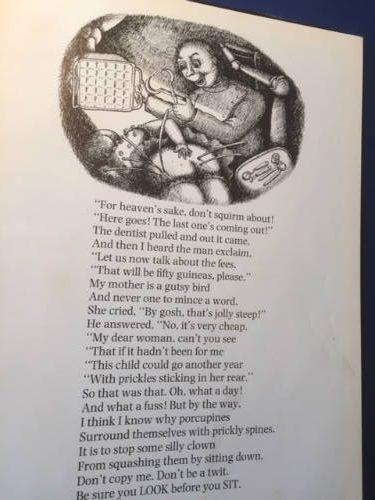 Roald Dahl, Dirty Beasts