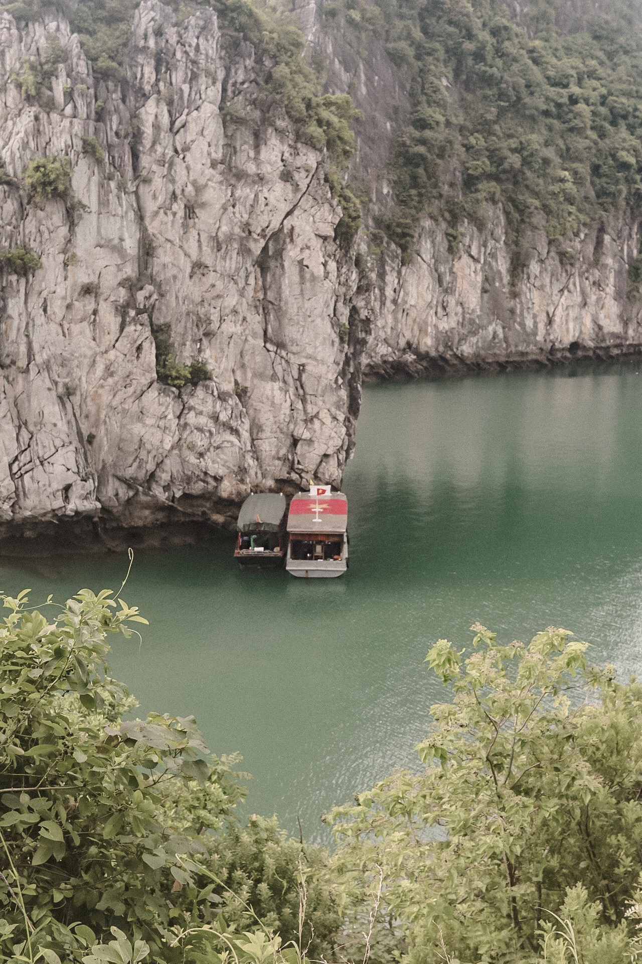Illustrated by Sade - View of Ha Long Bay Vietnam