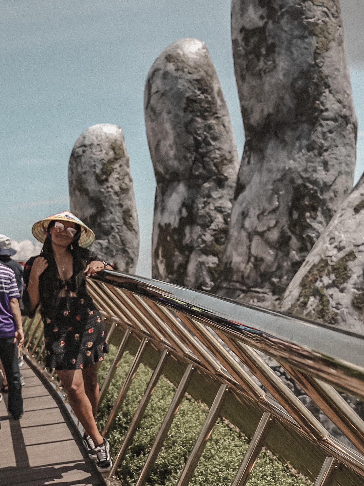 The Golden Bridge @ Sun World at Ba Na Hills, Da Nang, Vietnam