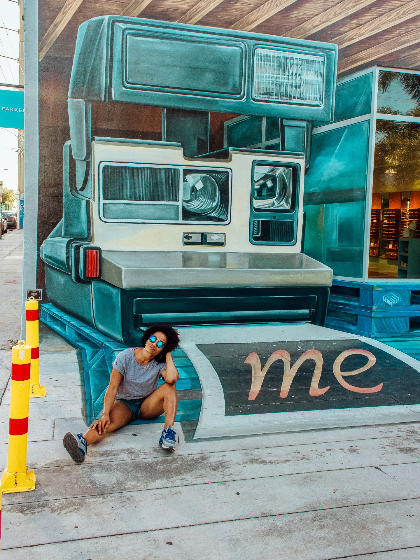 Illustrated by Sade - Wynwood Walls Mural