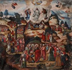 The Transfiguration, by Maestro de Santa Teresa, c. 18th century. Monasterio de Santa Teresa, Ayacucho, Perú.