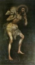 The Good Shepherd, c. 17th century. Convento de la Concepción, Lima, Peru. Via IllustratedPrayer.com
