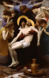 Pieta, by William-Adolphe Bouguereau, c. 1876. Private collection.