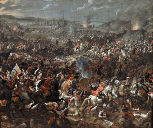 Battle of Vienna, by Pauwel Casteels, c. 1683-85. Museum of King Jan III's Palace at Wilanów, Warsaw, Poland.