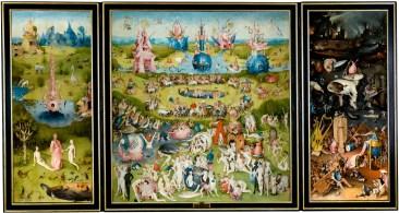 The Garden of Earthly Delights, by Hieronymus Bosch, c. 1490-1510. Museo del Prado, Madrid, Spain. Via IllustratedPrayer.com