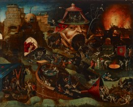 Christ in Limbo, by a follower of Hieronymus Bosch, c. 1575. Indianapolis Museum of Art, Indianapolis, Indiana, United States.