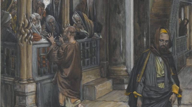 Judas Goes to Find the Jews, by James Tissot, c. 1886-94. Brooklyn Museum, New York, New York, United States. Via IllustratedPrayer.com
