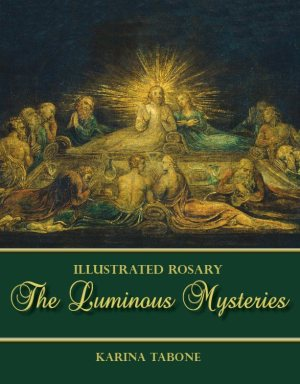 The teaser cover for the Luminous Mysteries. Coming soon!