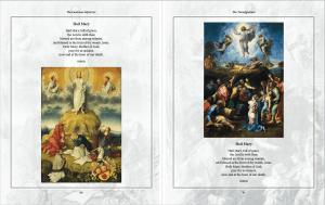 Sneak Peek at The Luminous Mysteries by Karina Tabone - The Transfiguration. Via IllustratedPrayer.com