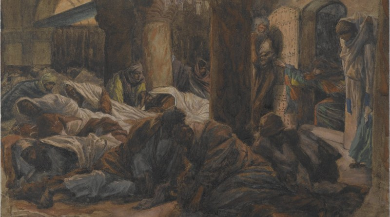 """They have taken away the Lord!"", by James Tissot, c. 1886-94. Brooklyn Museum, New York, New York, United States. Via IllustratedPrayer.com"