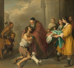 The Return of the Prodigal Son, by Bartolomé Esteban Murillo