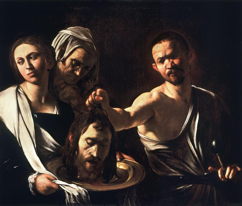 Salome with the Head of John the Baptist, by Caravaggio