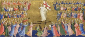 Christ Glorified in the Court of Heaven, by Fra Angelico