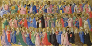 The Forerunners of Christ with Saints and Martyrs, by Fra Angelico