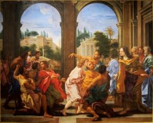 Joseph Recognized by his Brothers, by Giovanni Battista Gaulli, c. 17th century. Musée Fesch, Ajaccio, France.