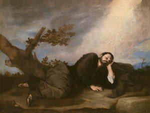 Jacob's Dream, by Jusepe de Ribera, c. 1639. Museo del Prado, Madrid, Spain.