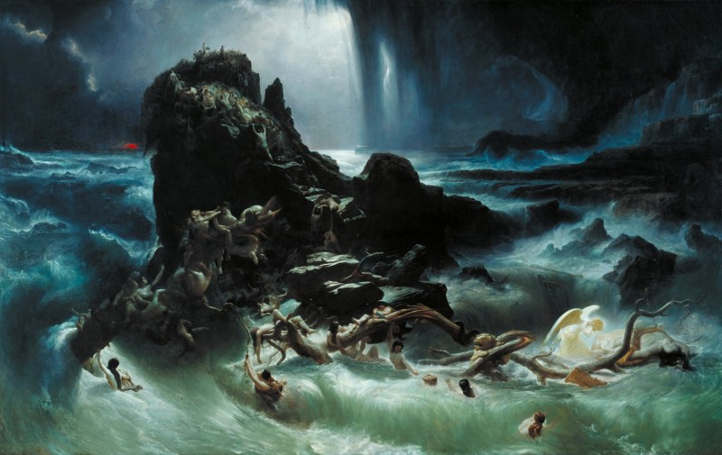 The Deluge, by Francis Danby, c. 1840. Tate Britain, London, United Kingdom.