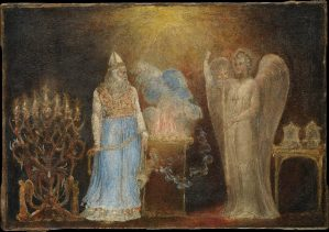 The Angel Appearing to Zacharias, by William Blake, c. 1799-1800. The Metropolitan Museum of Art, New York, New York, United States.