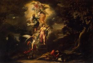 Jacob's Dream, by Bartolomé Esteban Murillo, c. 1660. State Hermitage Museum, St. Petersburg, Russia.