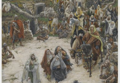 What Our Lord Saw From the Cross, by James Tissot, c. 1886-94. Brooklyn Museum, New York, New York, United States.