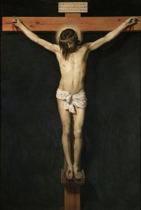 The Crucified Christ, by Diego Velázquez, c. 1632. Museo del Prado, Madrid, Spain.