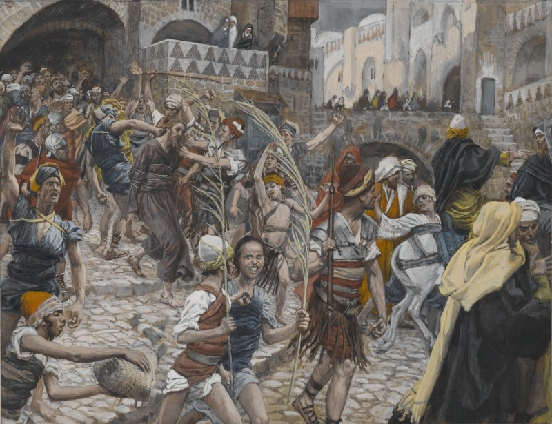 Jesus Led from Caiaphas to Pilate, by James Tissot, c. 1886-94. Brooklyn Museum, New York, New York, United States.