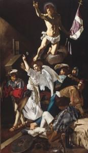 The Resurrection, by Francesco Buoneri, called Cecco del Caravaggio, c. 1619-20. Art Institute of Chicago, Chicago, Illinois, United States.