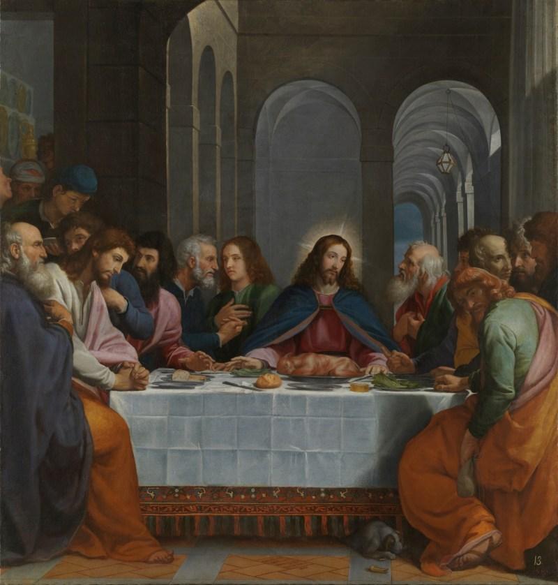 The Last Supper, by Bartolomeo Carducci, c. 1605. Museo del Prado, Madrid, Spain.