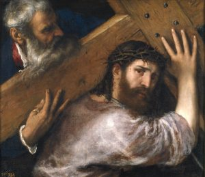 Christ Carrying the Cross, by Titian, c. 1565. Museo del Prado, Madrid, Spain.