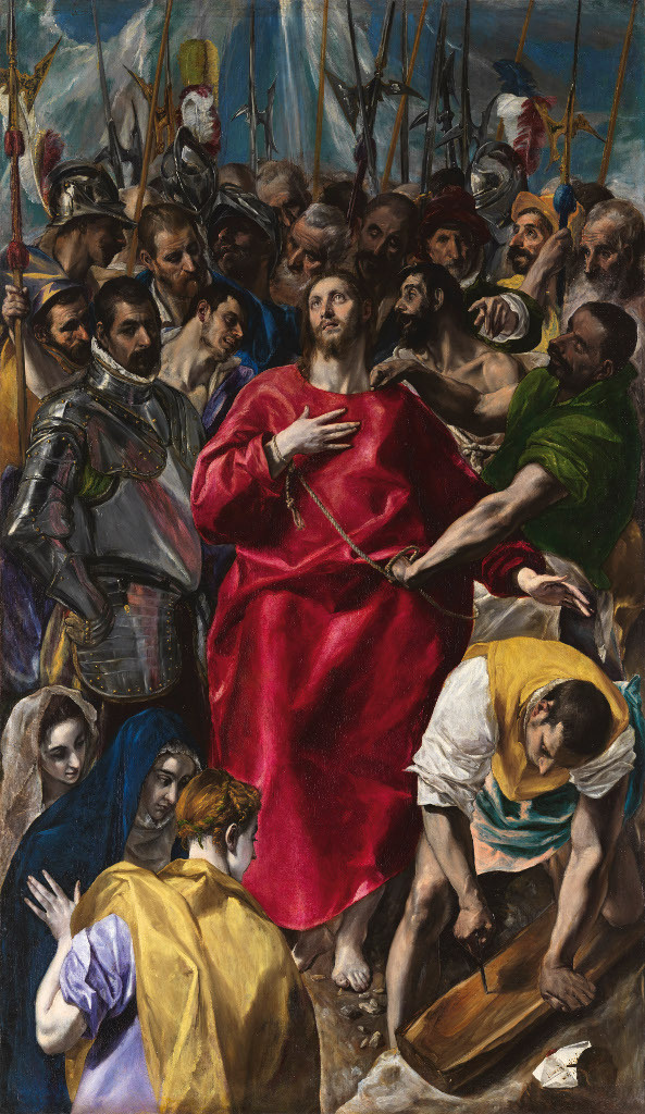 Disrobing of Christ, by El Greco, c. 1579. Cathedral of Toledo, Toledo, Spain.