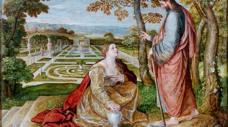 Noli Me Tangere, by Lambert Sustris, c. 1548-60. Palais des Beaux-Arts de Lille, Lille, France.