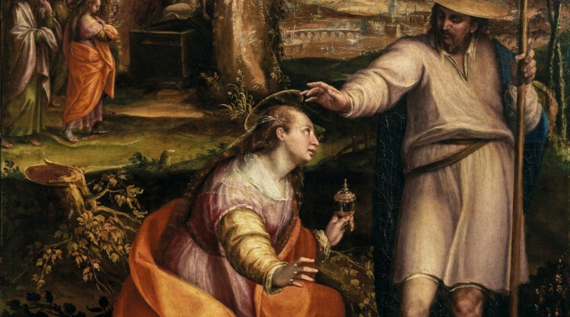 Noli Me Tangere, by Lavinia Fontana, c. 1581. The Uffizi Gallery, Florence, Italy.