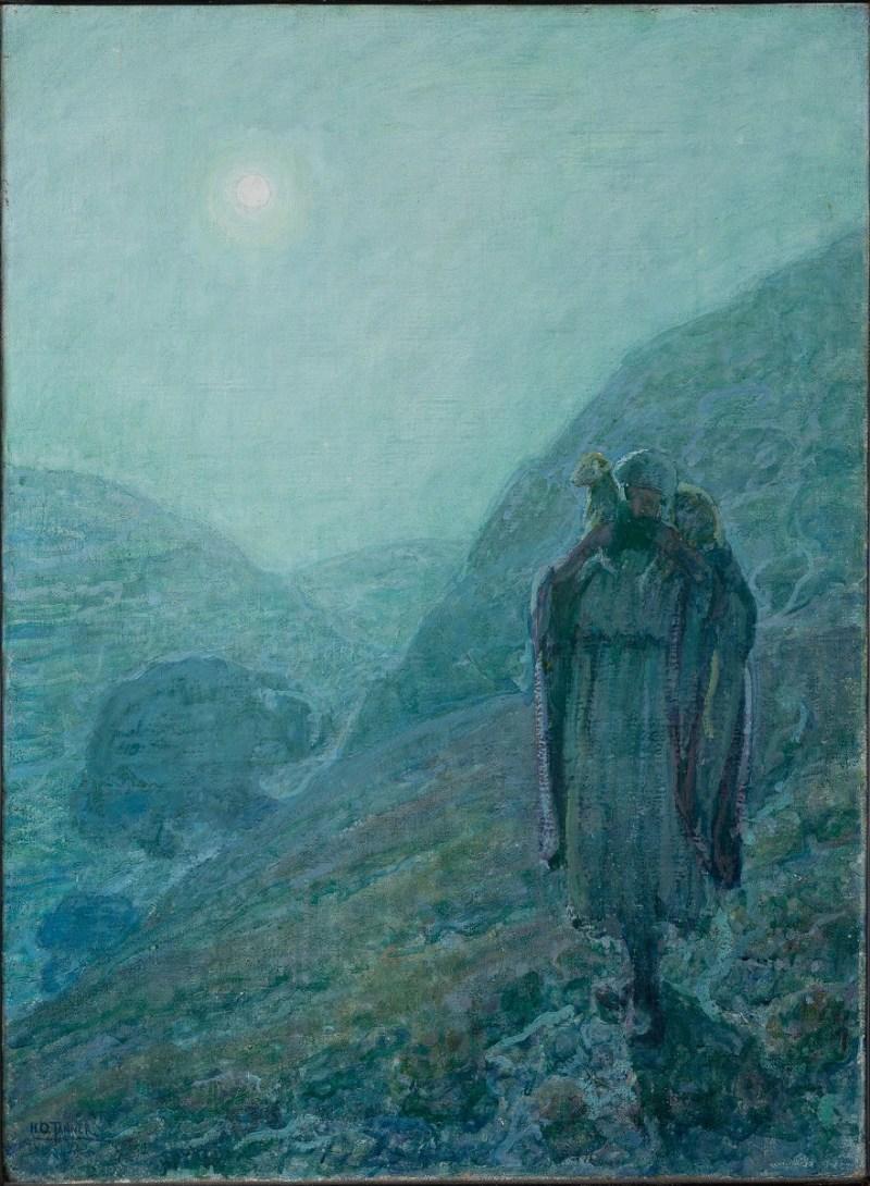 The Good Shepherd, by Henry Ossawa Tanner, c. 1922. Newark Museum, Newark, New Jersey, United States.