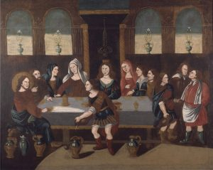 The Marriage Feast at Cana, c. 1740. Albany Institute of History and Art, Albany, New York, United States.