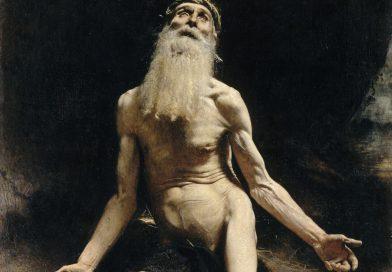 Job, by Léon Bonnat, c. 1880. Musée Bonnat, Bayonne, France.