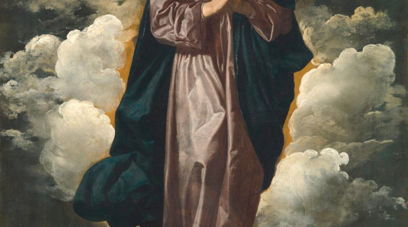 Immaculate Conception, by Diego Velázquez, c. 1618-19. National Art Gallery, London, United Kingdom.