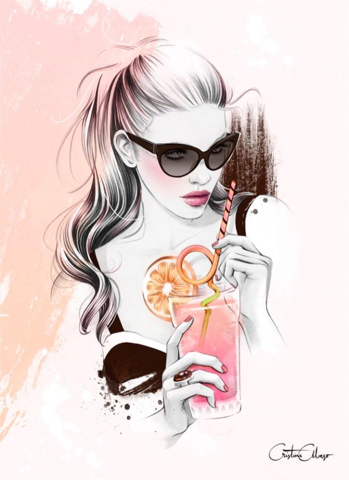 Spanish Fashion Illustrator Cristina Alonso ILLUSTRATION AGE