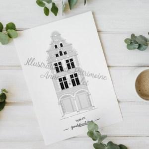 illustration_de_patrimoine_anne_létondot_boutique_arras_grand_place_patrimoine_nord_pas_de_calais_hauts_de_france