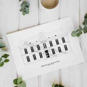 illustration_de_patrimoine_anne_létondot_boutique_mairie_de_cantin_hauts_de_france