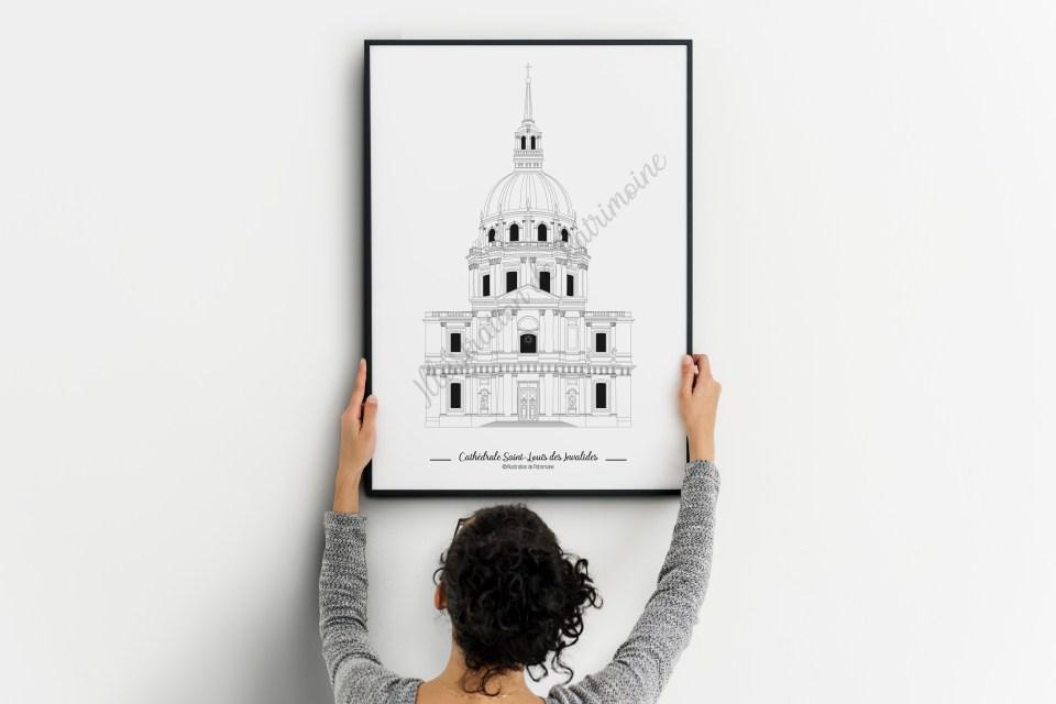 Cathédrale Saint Louis des Invalides Illustration de Patrimoine