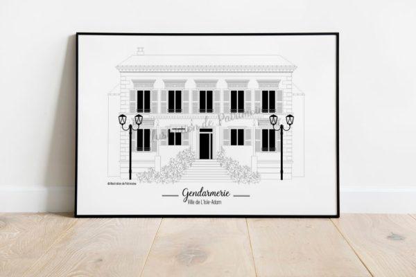 Gendarmerie_lisleadam_illustrationdepatrimoine