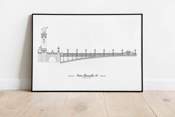 Pont_Alexandre_III_Paris_monument_parisien_imagerie_parisienne_illustrationdepatrimoine