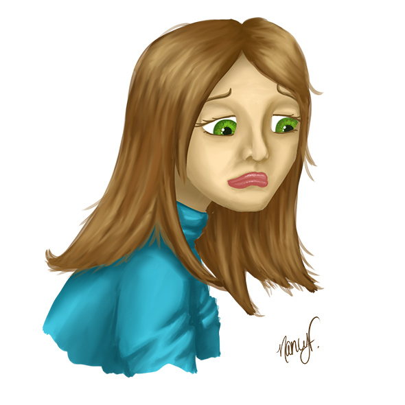 fille-triste-nancy-fournier-illustration