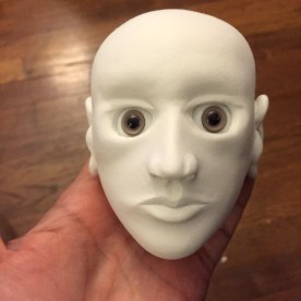 Finished head.
