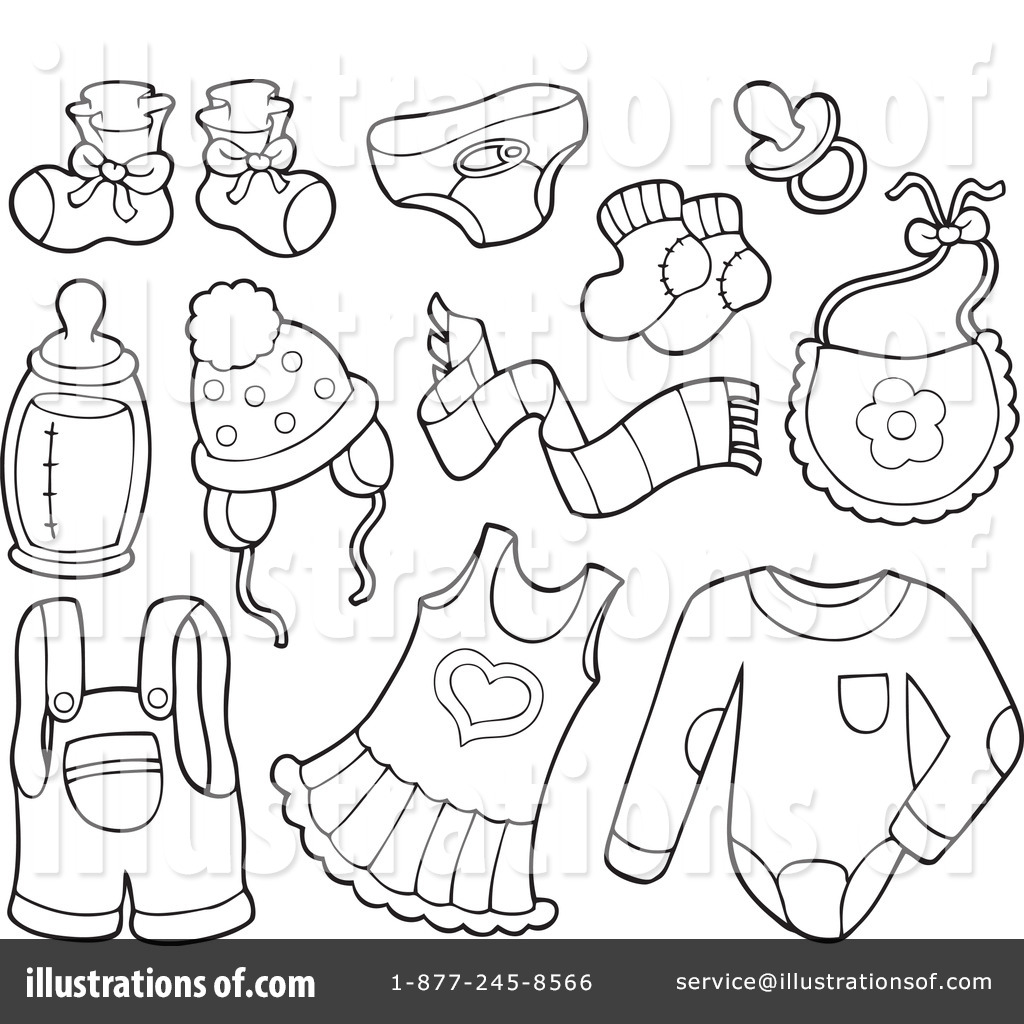 Baby Items Clipart